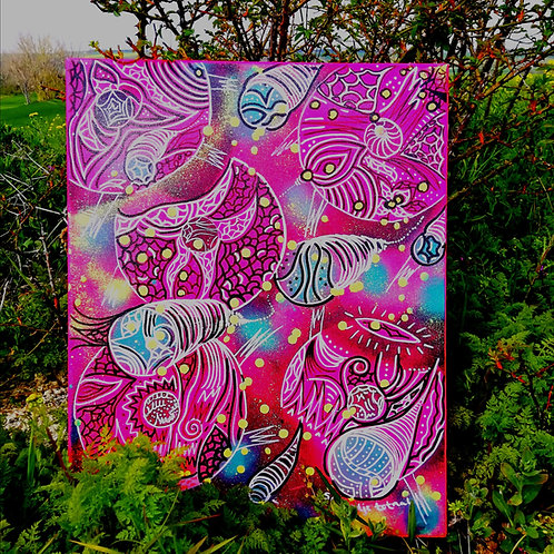 canvas - uv active (50 cm x 40 cm)