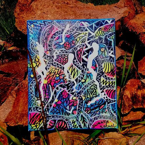 canvas - uv active (30 cm x 25 cm)