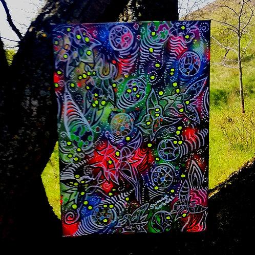 canvas - uv active (30 cm x 40 cm)