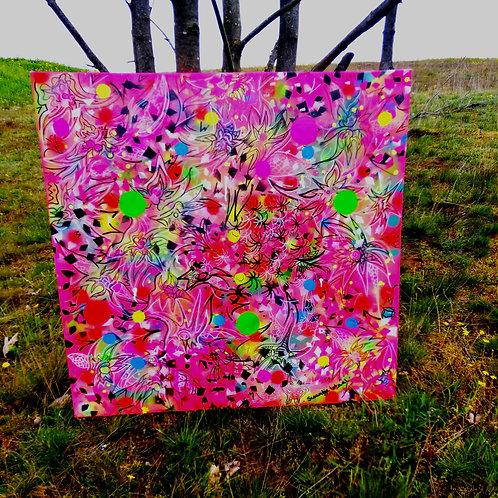 canvas - uv active (100 cm x 100 cm)