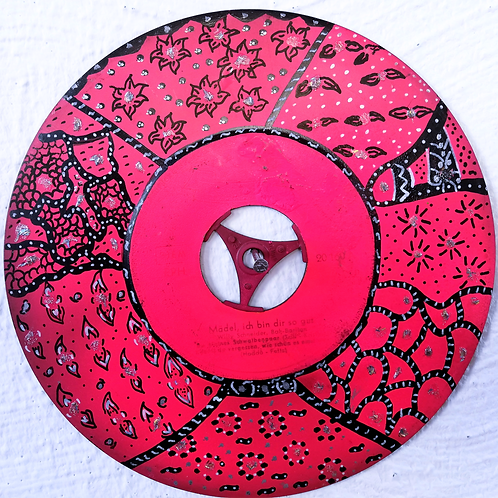handpainted vinyl dream (7 inch) uv active
