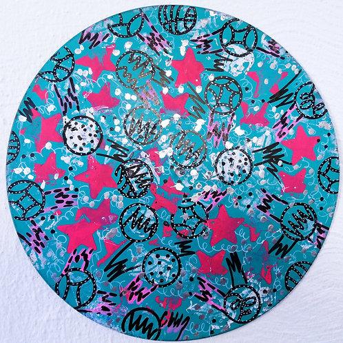 handpainted vinyl dream (12 inch) uv active