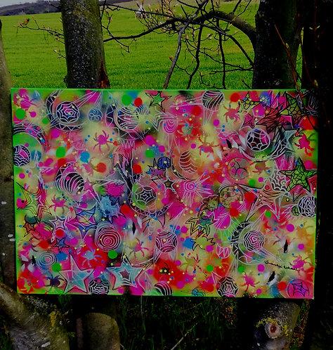 canvas - uv active (70 cm x 100 cm)