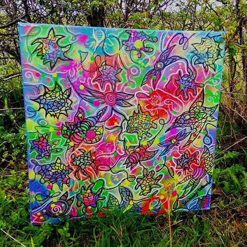 canvas - uv active (50 cm x 50 cm)