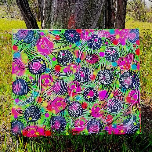 canvas - uv active (50 cm x 60 cm)