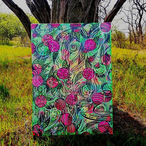 canvas - uv active (50 cm x 70 cm)