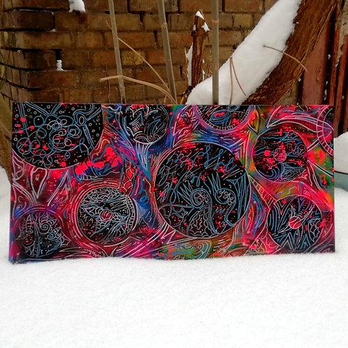 canvas - uv active (50 cm x 100 cm)
