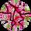 Thumbnail: handpainted slipmat -  uv active