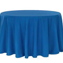 Royal blue polyester $11.00