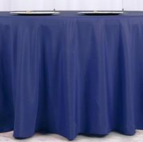 Navy blue polyester $11.00