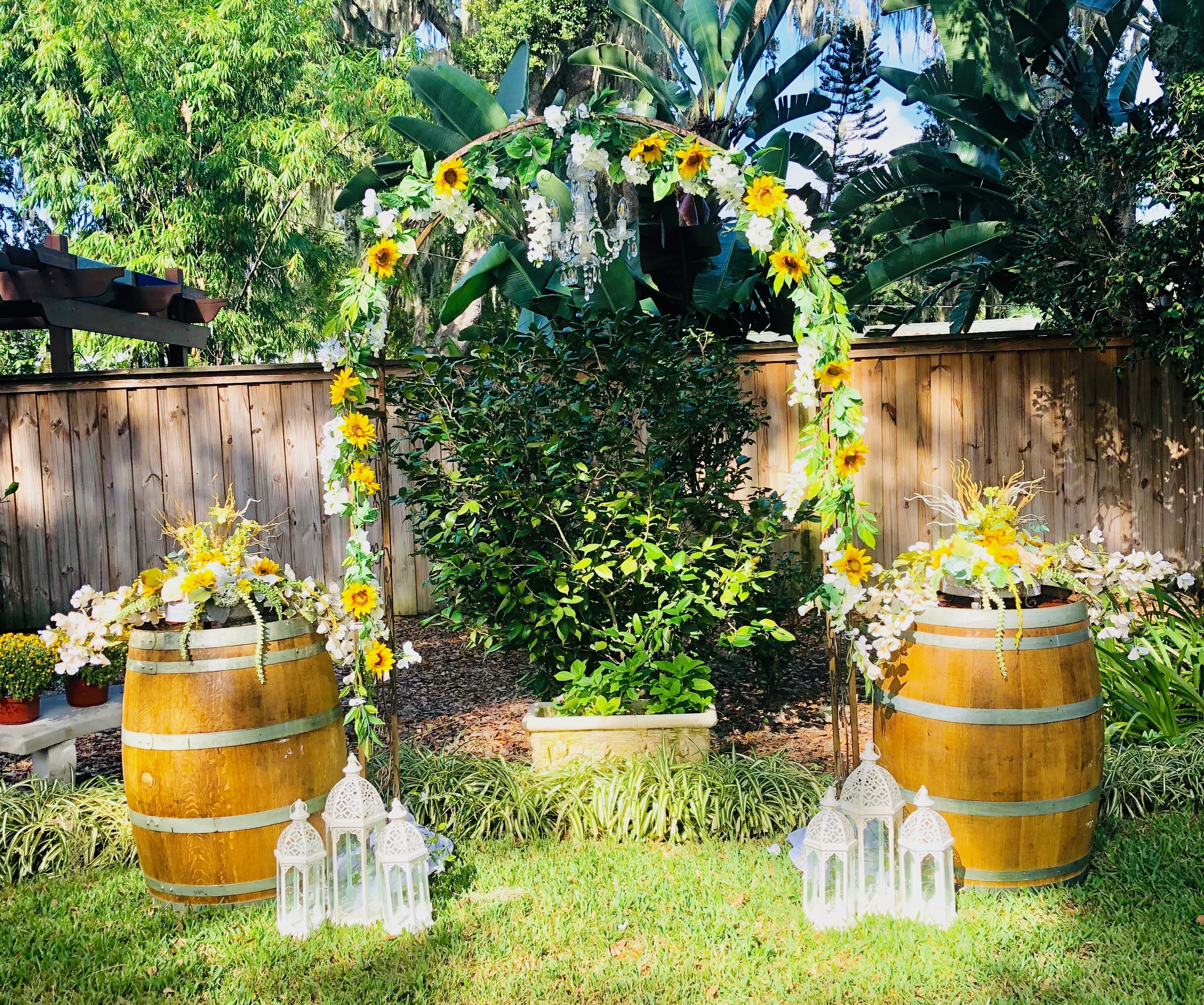 Outdoor Ceremony in greater Orlando