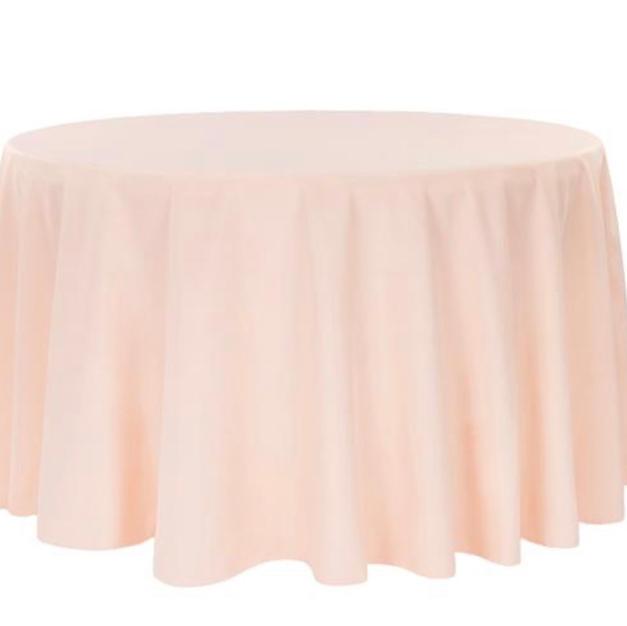 Blush polyester $10.25