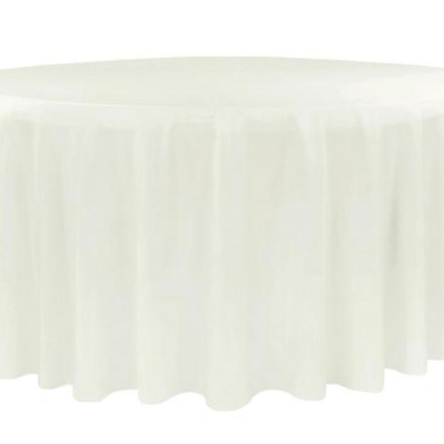 Ivory polyester $9.25