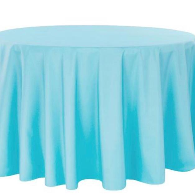 Tiffany blue polyester $11.00