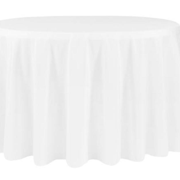 White polyester $9.00