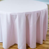 Light pink polyester $11.00