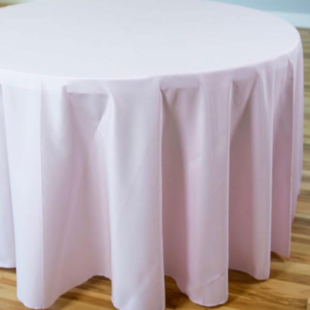 Light pink polyester $10.25