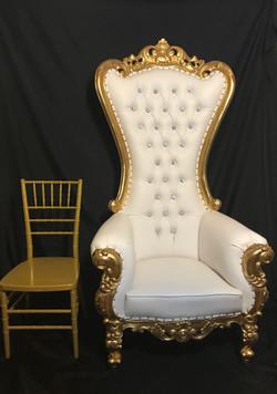 Throne Chair Rentals