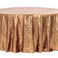 Full sequin gold linen starting at $25.00