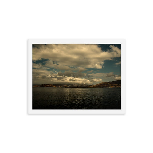 Framed poster Sea of Flores Indonesia