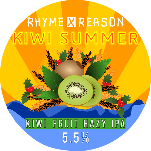 Kiwi Summer -  New England Style IPA - 500ml