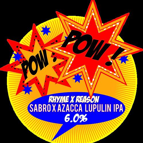 Pow Pow - Azacca and Sabro Lupulin IPA - 500ml Bottle