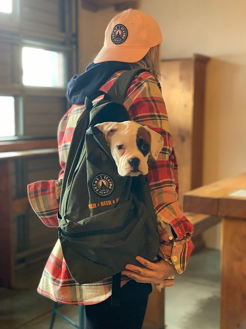 Day Backpack (Betty the Boxer not included)