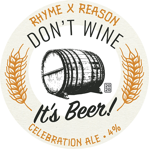 Don't Wine It's Beer -  Celebration Ale - 500ml