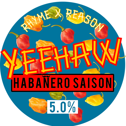 Yeehaw - Habanero Saison - 500ml