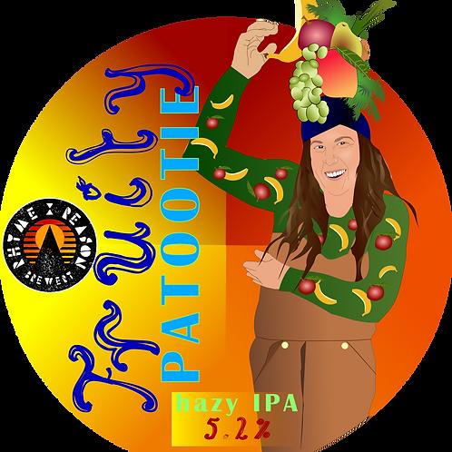 Fruity Patootie - Hazy IPA - 500ml Bottle
