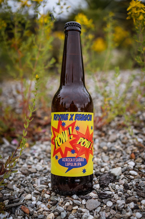 Pow Pow - Azacca and Sabro Lupulin IPA - 500ml Bottle