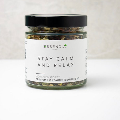 STAY CALM AND RELAX