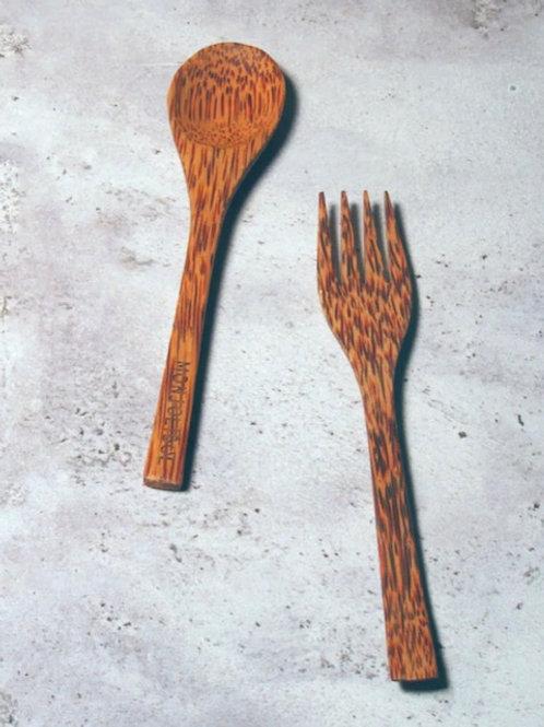 Cuillère naturelle en bois de coco