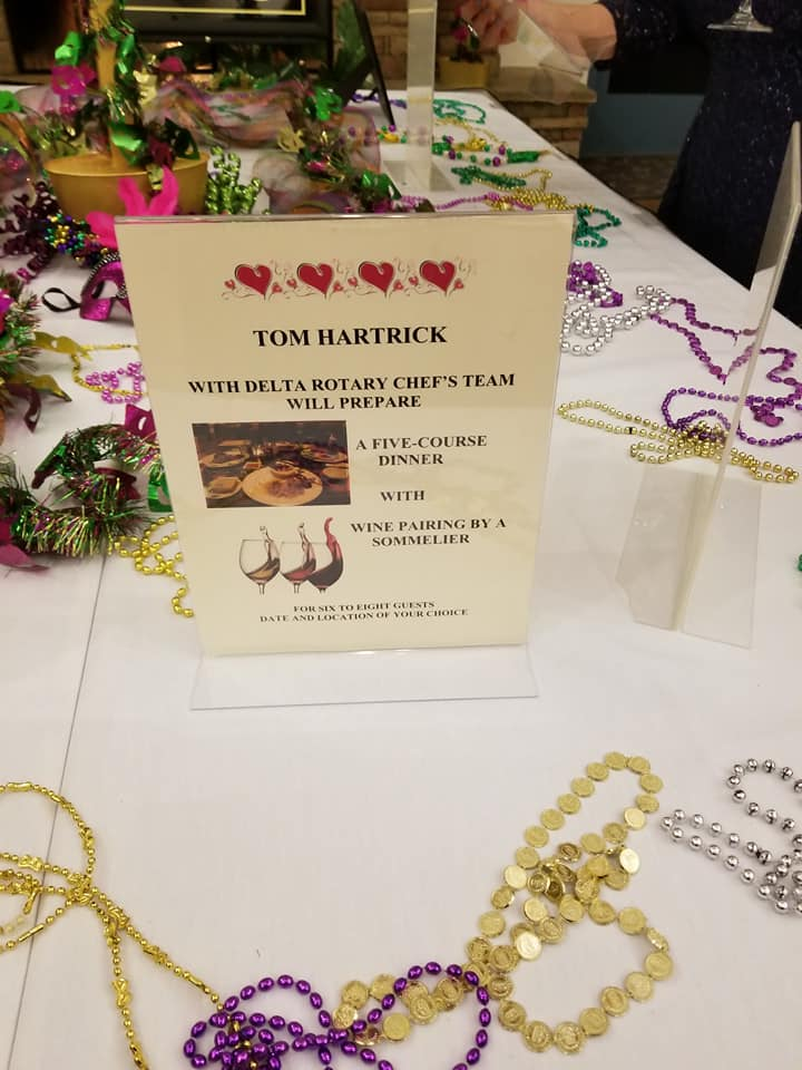Tom's Live Auction