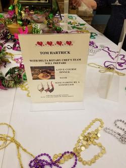 Tom's Live Auction