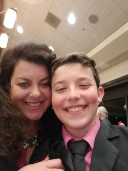 Ethan and Mommie