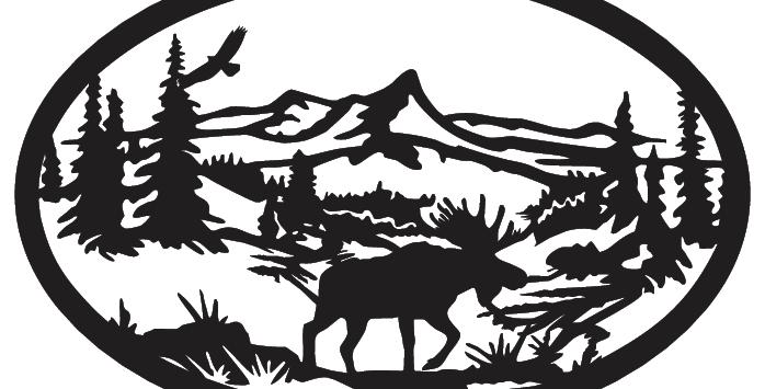 Moose Scene