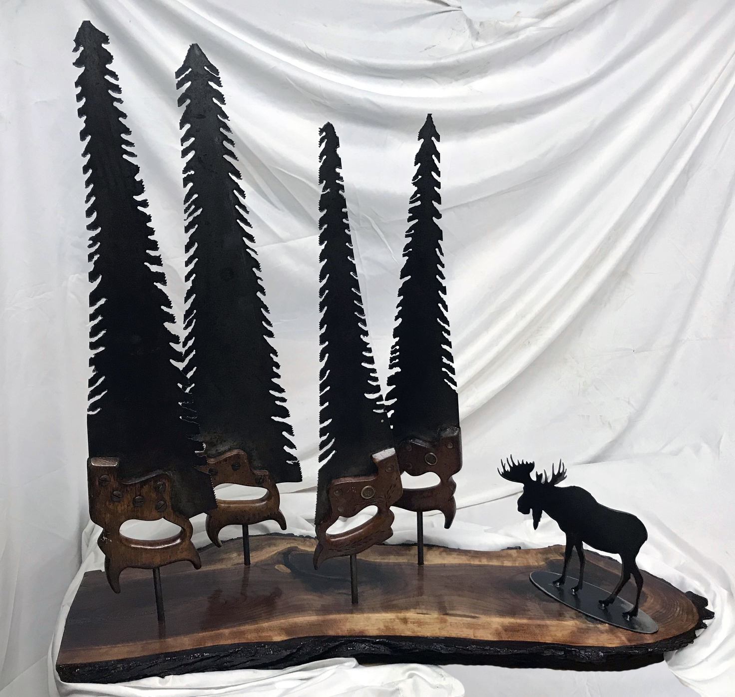 Tree Hand Saw With Moose