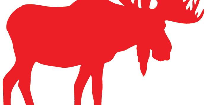 Moose - Wall Sign