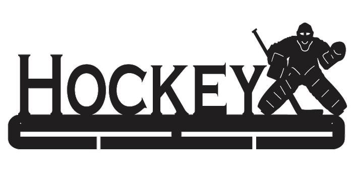 Hockey Medal Holder - Goalie