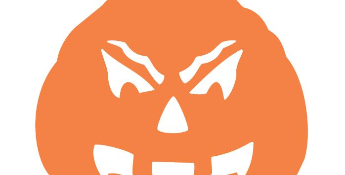 Orange Pumpkin - Angry