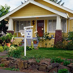 exterior of a recenty sold home