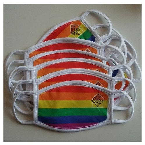 Aktion: Regenbogenmaske 10er Pack