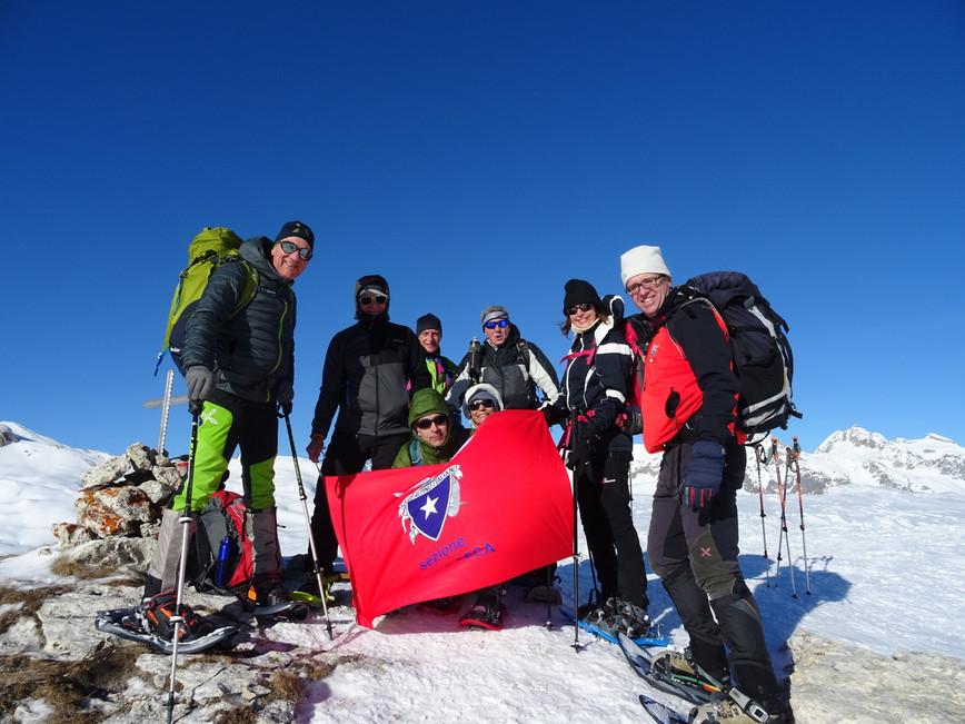 5 Gennaio 2020: Rifugio Maria Luisa e Rupe del Gesso