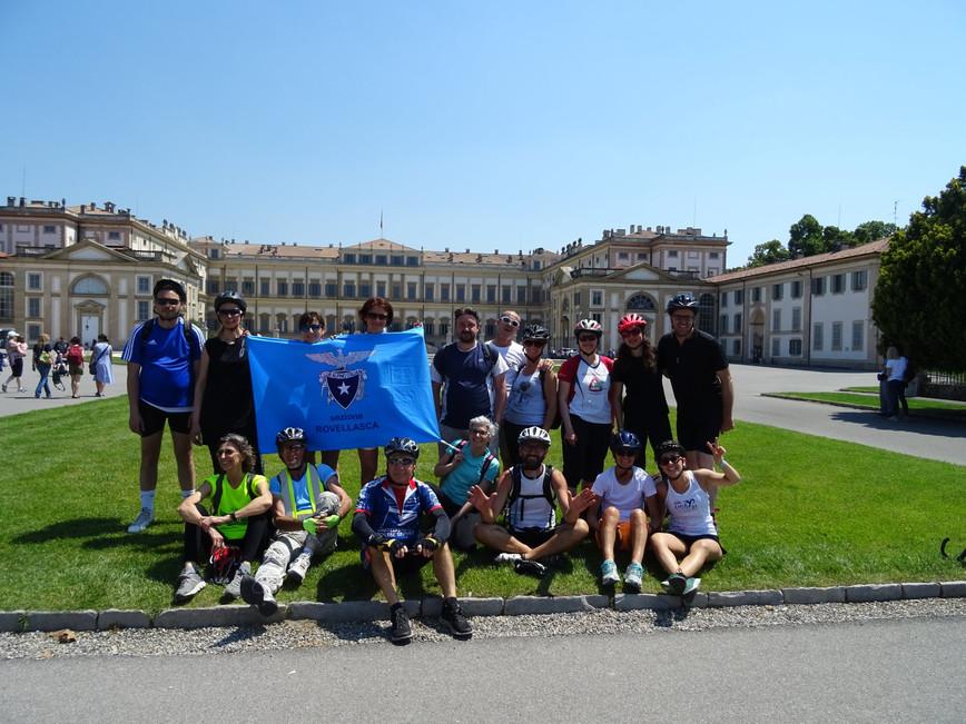 2 Giugno 2019: Biciclettata alla Villa Reale di Monza