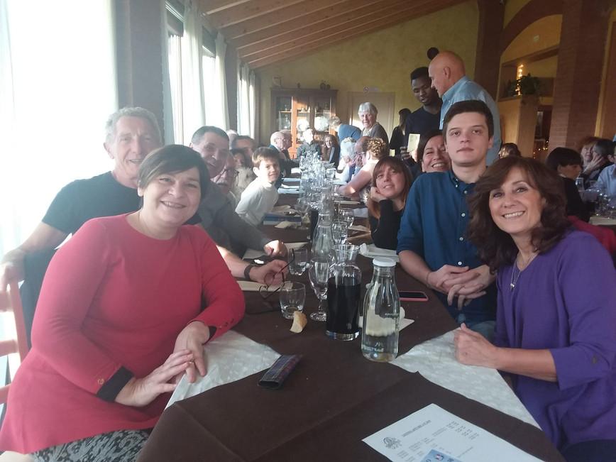 10 Novembre 2019: Pranzo con gli amici