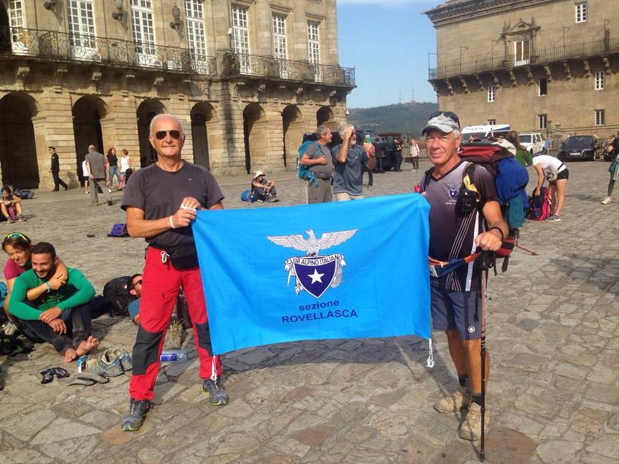 Il nostro socio Gianni è arrivato a Santiago de Compostela