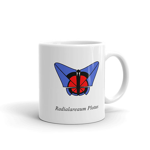 Datavizbutterfly - Radialareaum Plotus - Mug
