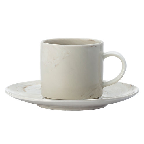 Marble コーヒーカップ&ソーサー 170ml