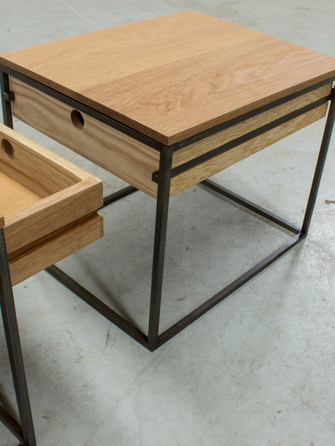 Framey Side Tables